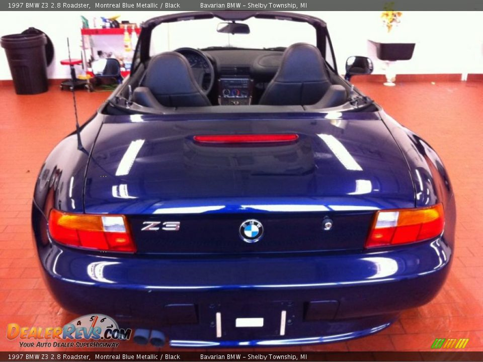 1997 Bmw Z3 2 8 Roadster Montreal Blue Metallic Black