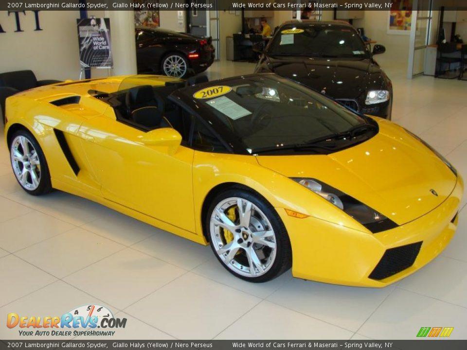 2007 Lamborghini Gallardo Spyder Giallo Halys (Yellow ...