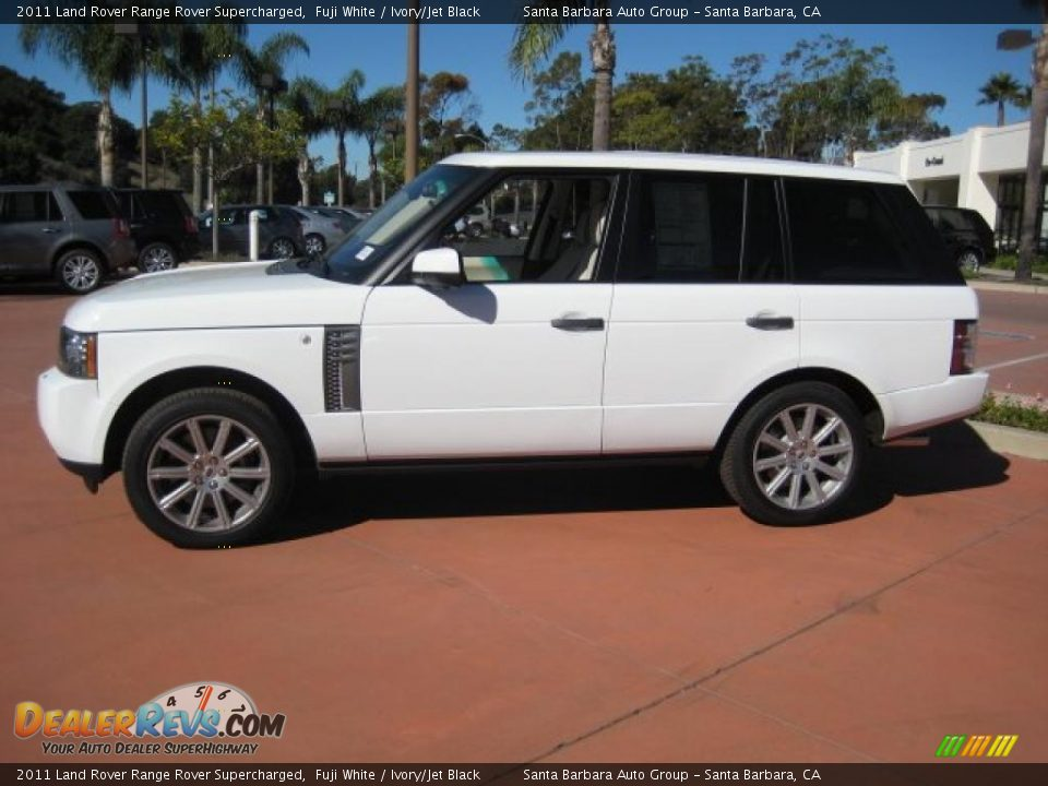 2011 Land Rover Range Rover Supercharged Fuji White