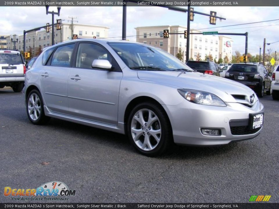 2009 mazda mazda3 s sport hatchback sunlight silver. Black Bedroom Furniture Sets. Home Design Ideas