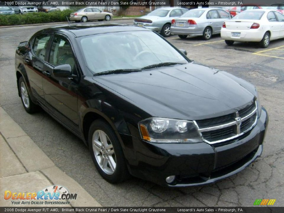 Front 3 4 View Of 2008 Dodge Avenger R T Awd Photo 6