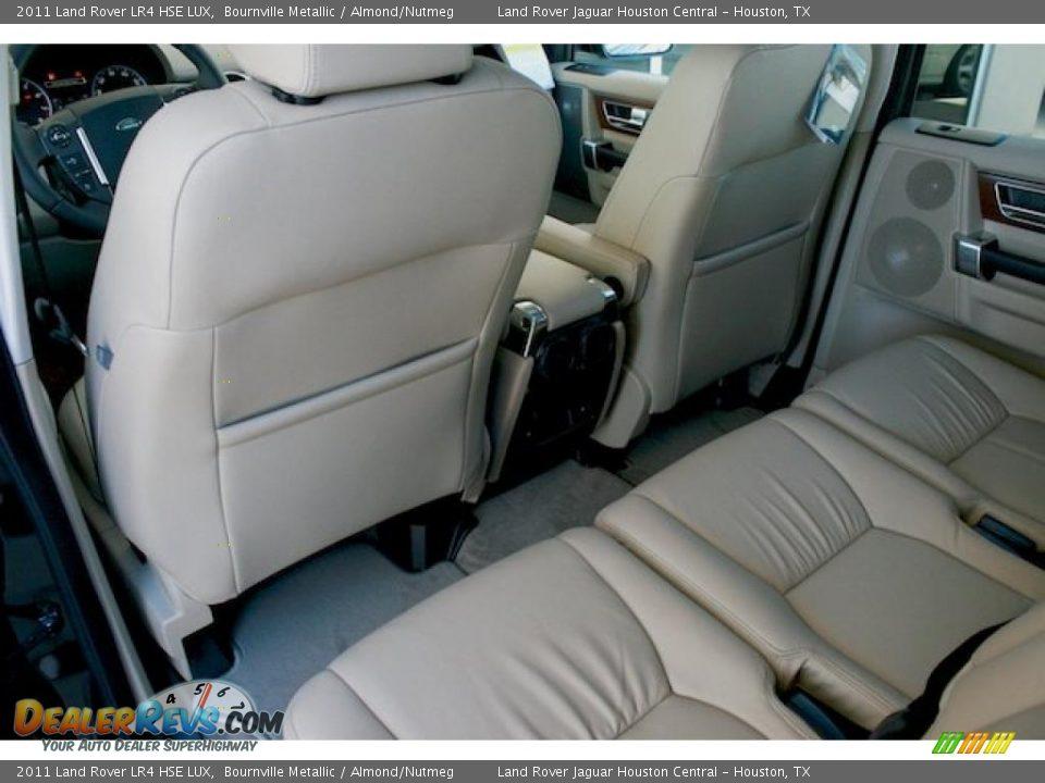 Almond Nutmeg Interior 2011 Land Rover Lr4 Hse Lux Photo