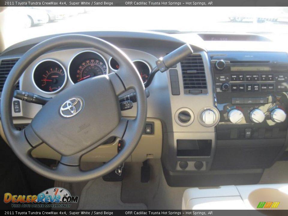 Dashboard Of 2011 Toyota Tundra Crewmax 4x4 Photo 13