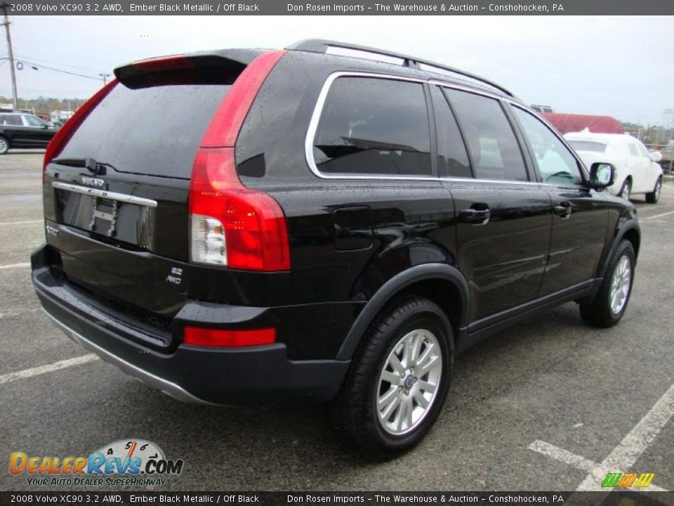 ember black metallic 2008 volvo xc90 3 2 awd photo 8. Black Bedroom Furniture Sets. Home Design Ideas