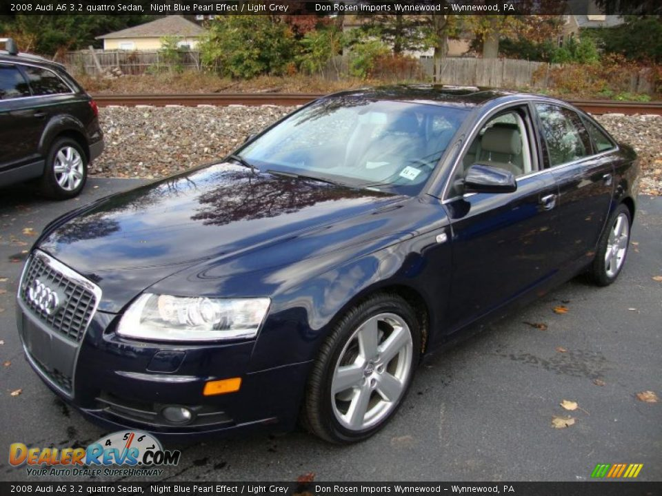 front 3 4 view of 2008 audi a6 3 2 quattro sedan photo 2. Black Bedroom Furniture Sets. Home Design Ideas