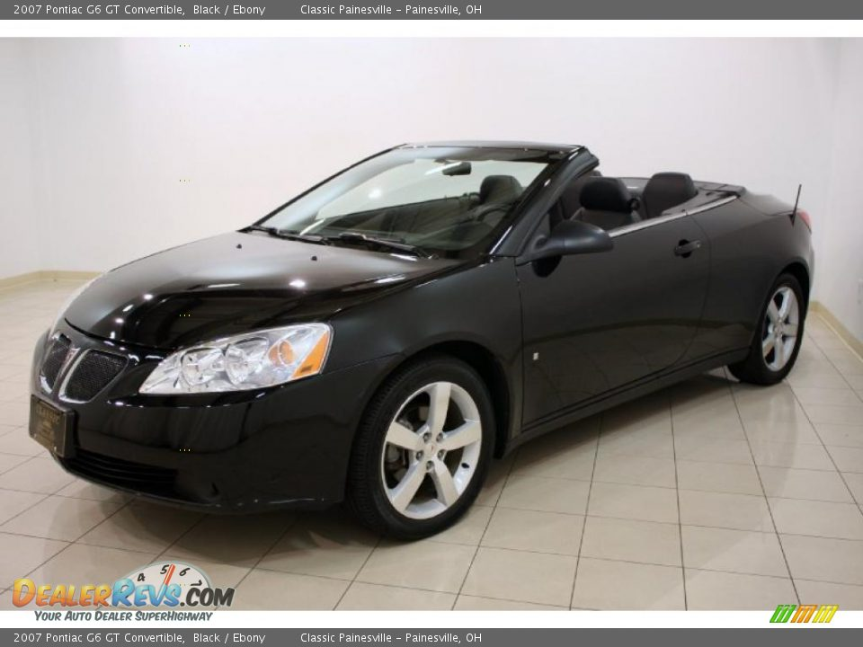 2007 pontiac g6 gt convertible black ebony photo 3. Black Bedroom Furniture Sets. Home Design Ideas
