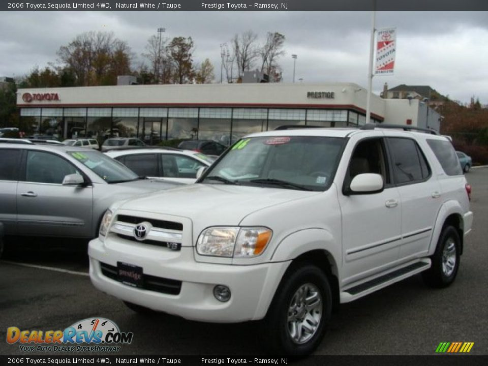 2006 Toyota Sequoia Limited 4wd Natural White Taupe