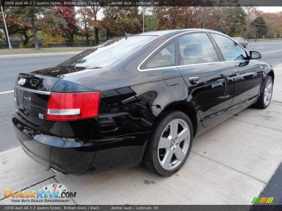 2008 audi a6 3 2 quattro sedan brilliant black black photo 5. Black Bedroom Furniture Sets. Home Design Ideas