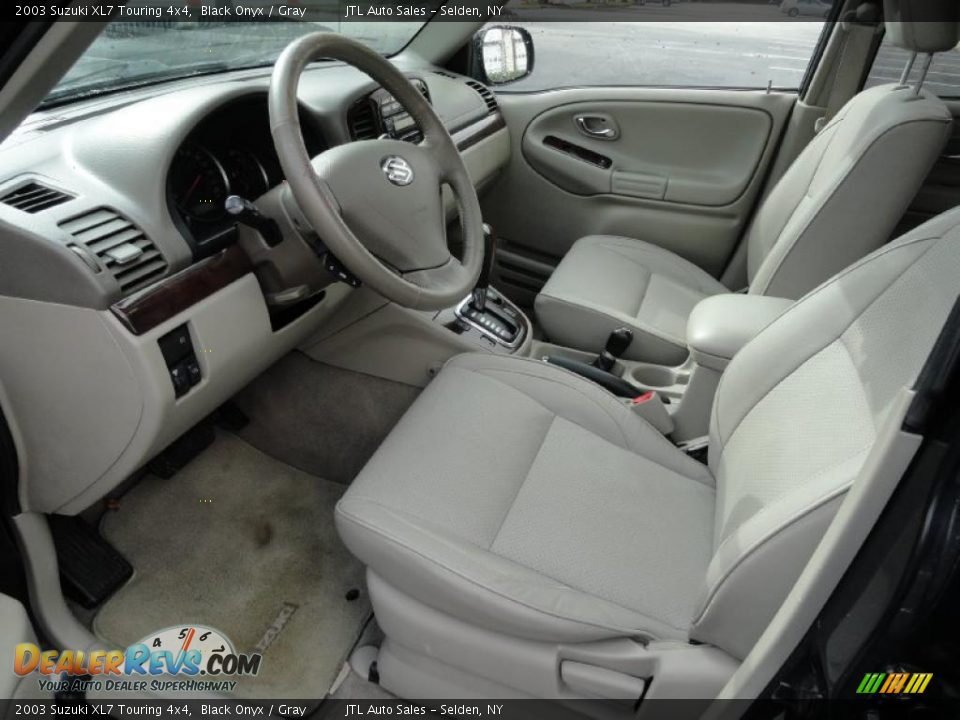 gray interior 2003 suzuki xl7 touring 4x4 photo 11 dealerrevs com gray interior 2003 suzuki xl7 touring 4x4 photo 11 dealerrevs com