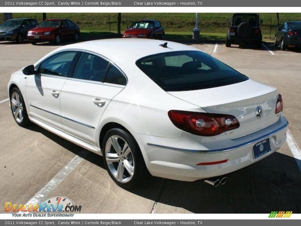 2011 volkswagen cc sport candy white cornsilk beige black photo 2. Black Bedroom Furniture Sets. Home Design Ideas