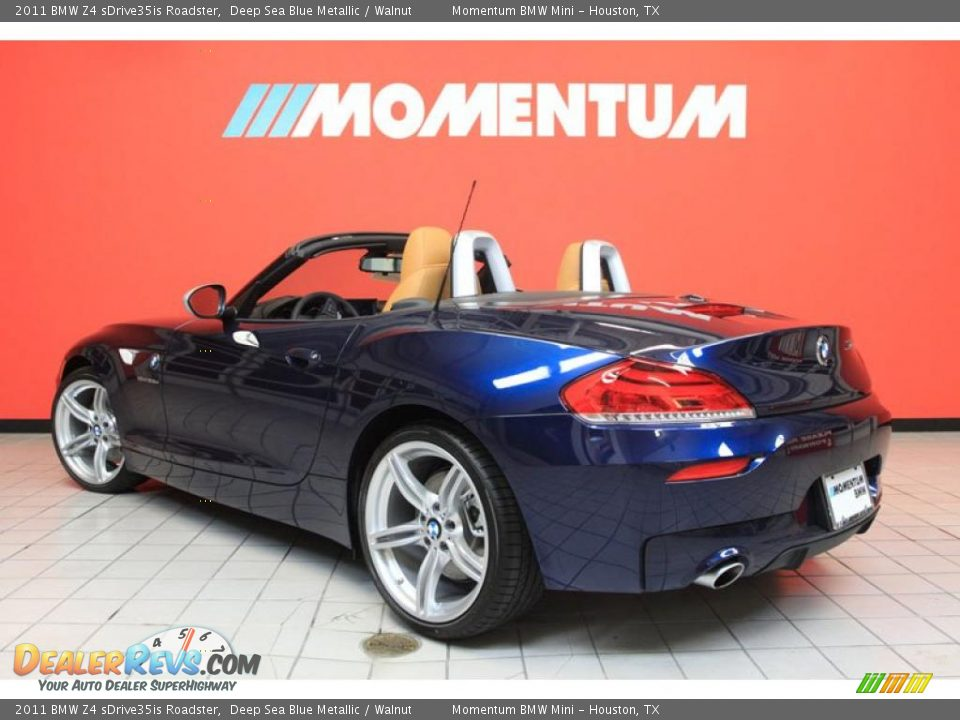 2011 Bmw Z4 Sdrive35is Roadster Deep Sea Blue Metallic