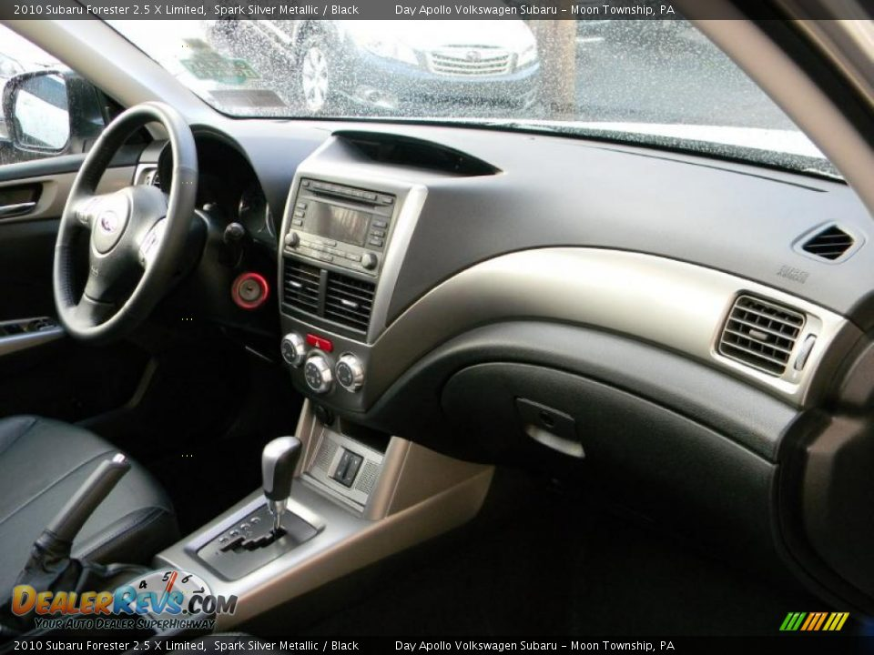 Black Interior 2010 Subaru Forester 2 5 X Limited Photo 16