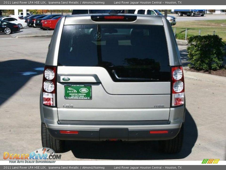 2011 Land Rover Lr4 Hse Lux Ipanema Sand Metallic Almond