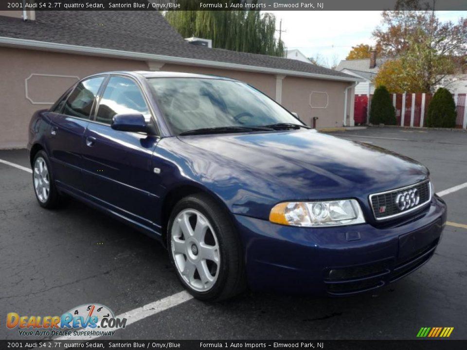 2001 Audi S4 2 7t Quattro Sedan Santorin Blue Onyx Blue