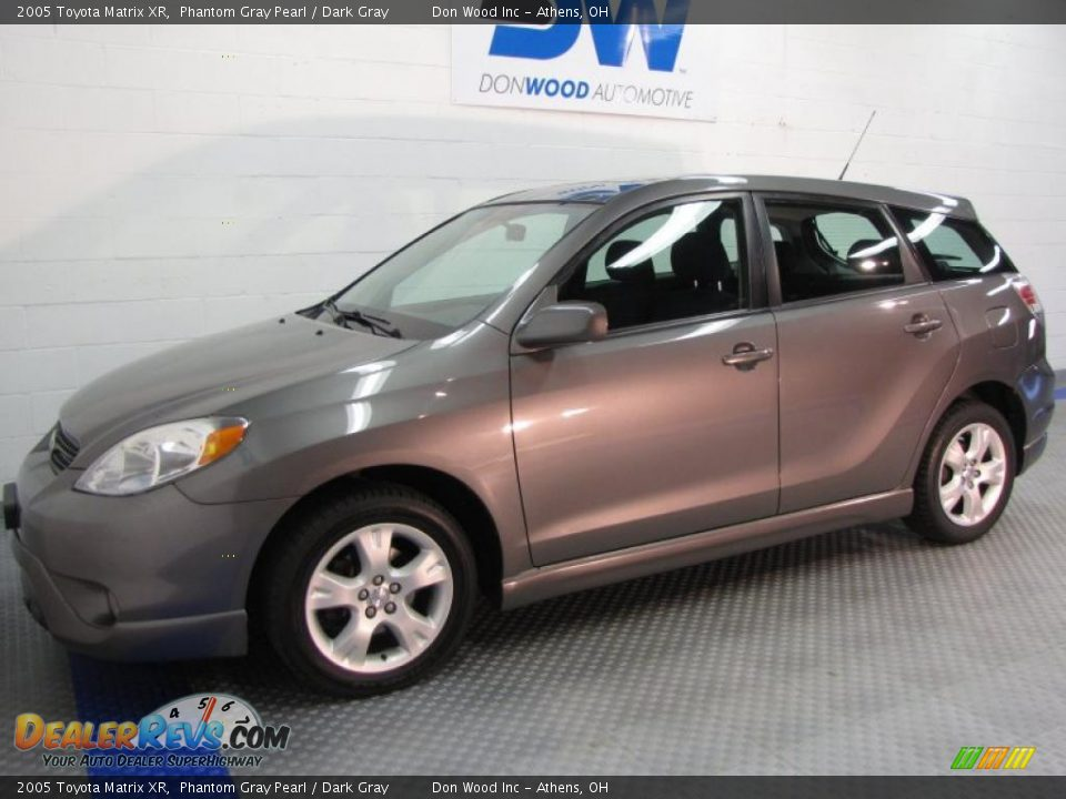 2005 Toyota Matrix XR Phantom Gray Pearl / Dark Gray Photo #2 ...
