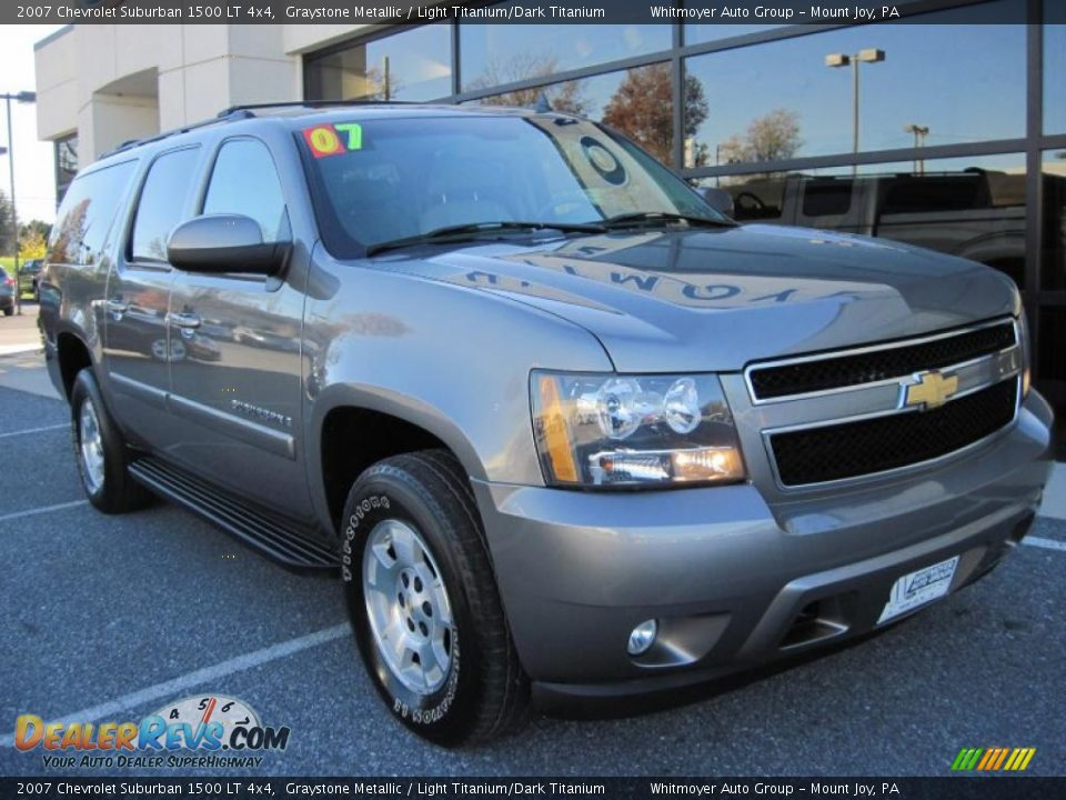 2007 chevrolet suburban 1500 lt 4x4 graystone metallic. Black Bedroom Furniture Sets. Home Design Ideas
