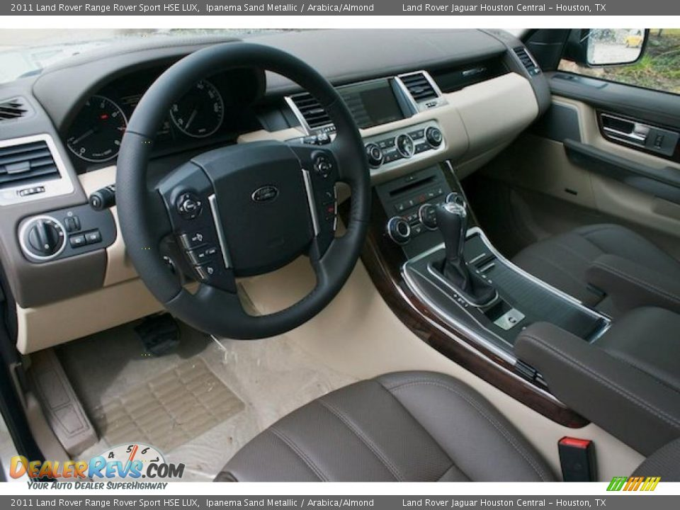 Arabica/Almond Interior - 2011 Land Rover Range Rover ...