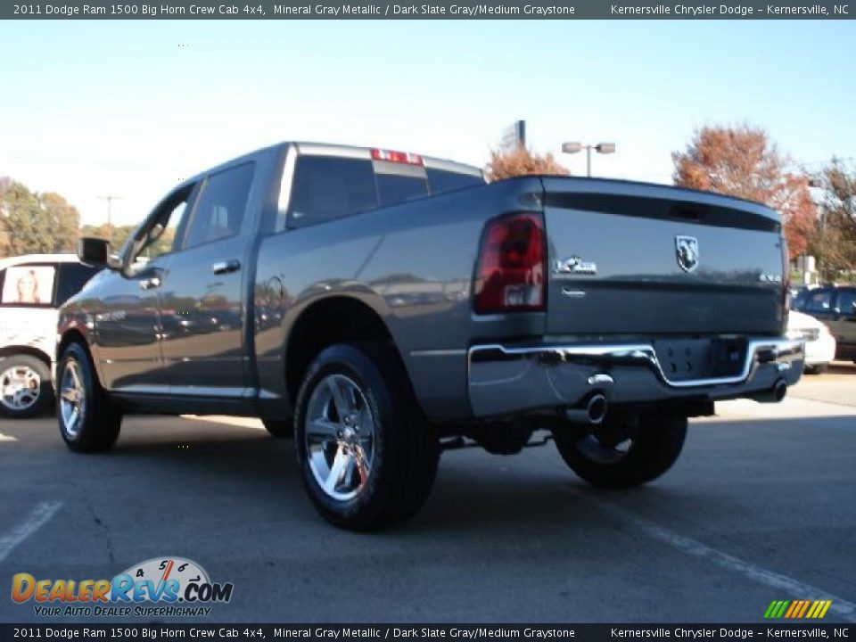 2011 dodge ram 1500 big horn crew cab 4x4 mineral gray metallic dark slate gray medium. Black Bedroom Furniture Sets. Home Design Ideas