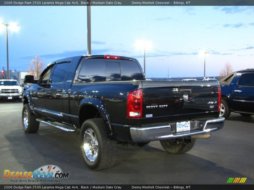 2006 dodge ram 2500 laramie mega cab 4x4 black medium. Black Bedroom Furniture Sets. Home Design Ideas