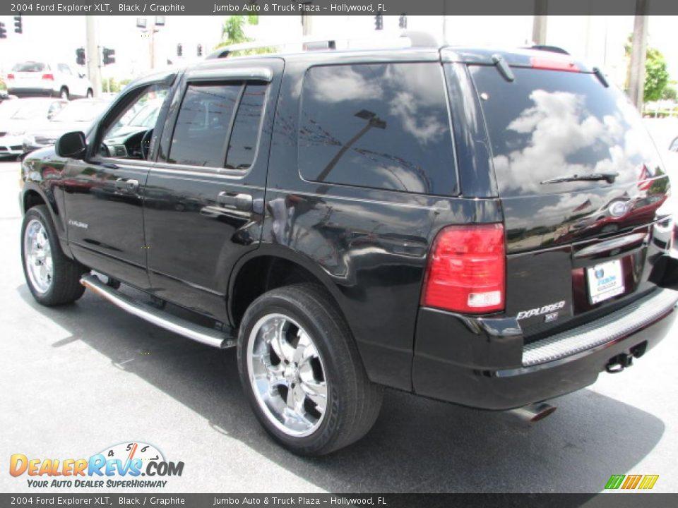 2004 Ford Explorer Xlt Black Graphite Photo 7