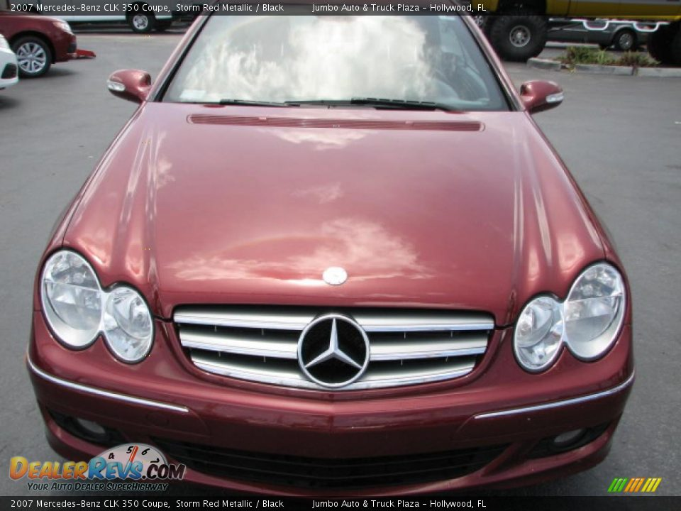 2007 mercedes benz clk 350 coupe storm red metallic for 2007 mercedes benz clk