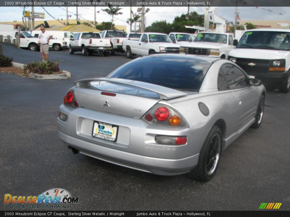 2003 mitsubishi eclipse gt coupe sterling silver metallic. Black Bedroom Furniture Sets. Home Design Ideas
