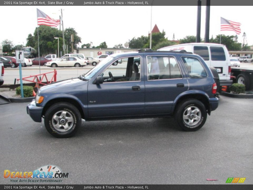 2001 kia sportage ex 4x4 slate blue gray photo 5. Black Bedroom Furniture Sets. Home Design Ideas