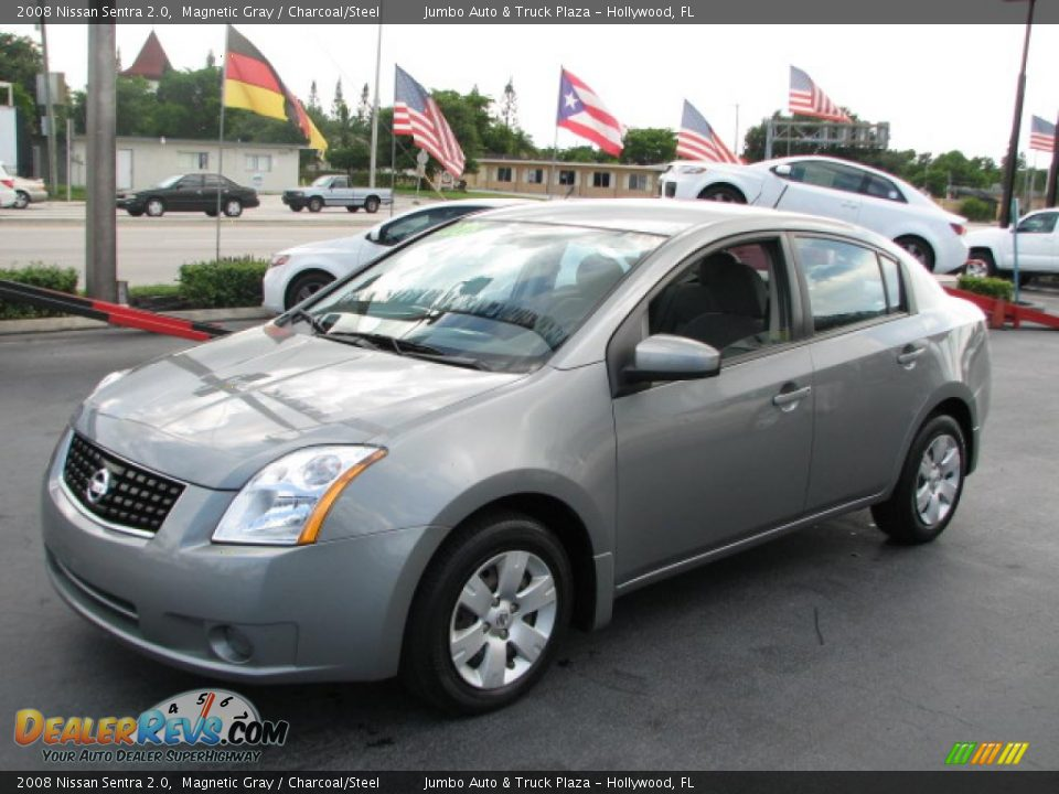 2008 Nissan Sentra 2 0 Magnetic Gray Charcoal Steel
