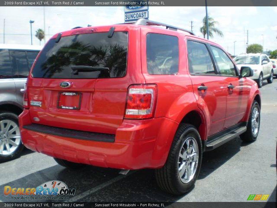 2009 ford escape xlt v6 torch red camel photo 2. Black Bedroom Furniture Sets. Home Design Ideas