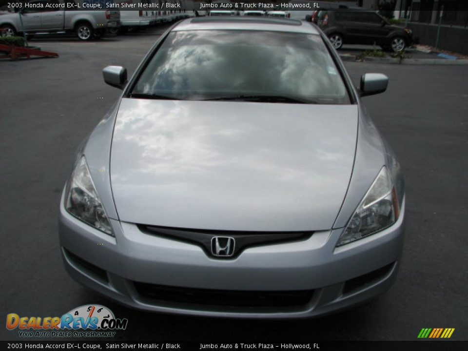 2003 honda accord ex l coupe satin silver metallic black photo 3. Black Bedroom Furniture Sets. Home Design Ideas