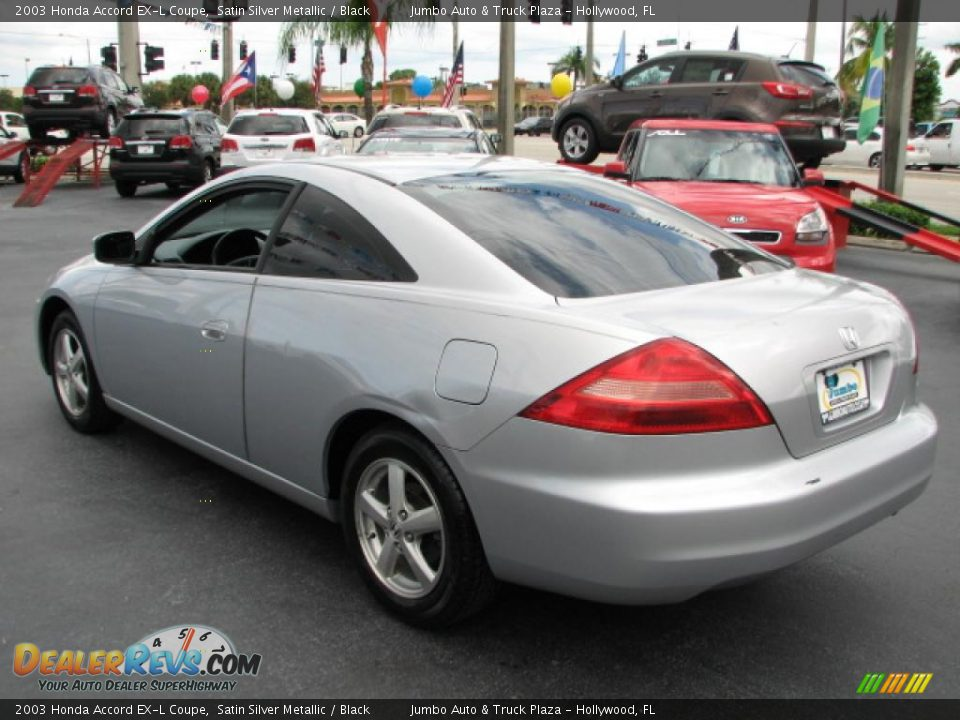 2003 honda accord ex l coupe satin silver metallic black photo 7. Black Bedroom Furniture Sets. Home Design Ideas