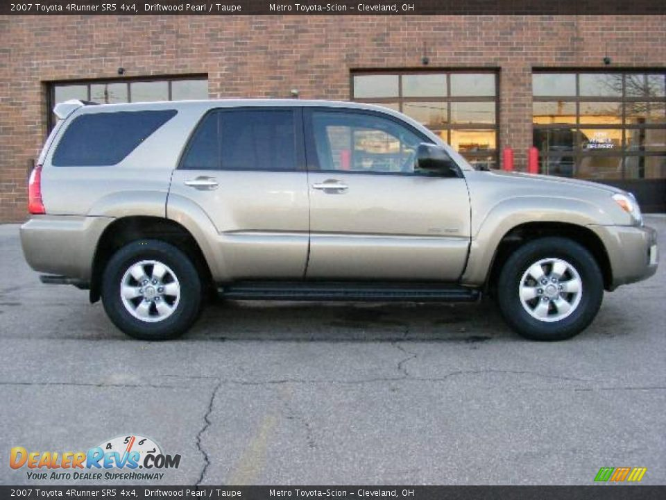 2007 Toyota 4runner Sr5 4x4 Driftwood Pearl Taupe Photo
