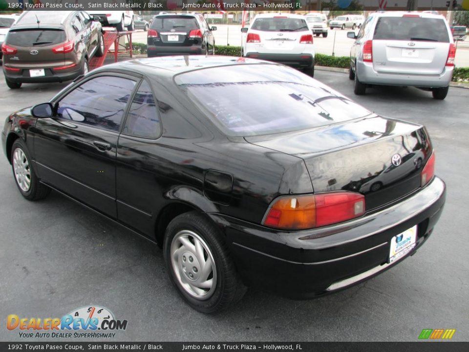 1992 Toyota Paseo Coupe Satin Black Metallic Black Photo