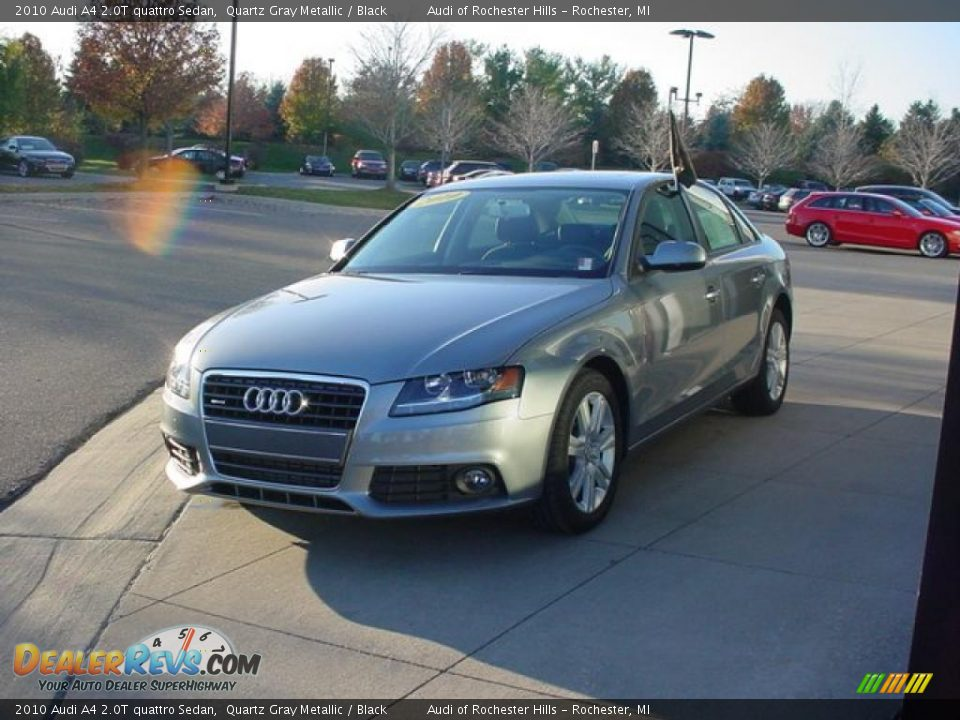 2010 Audi A4 2 0t Quattro Sedan Quartz Gray Metallic