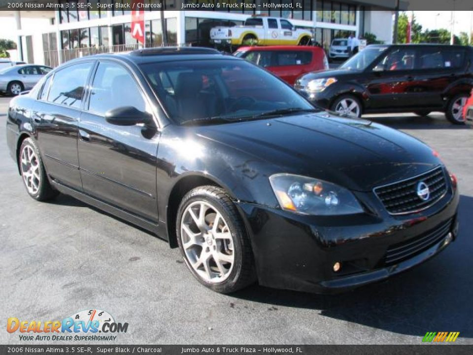 super black 2006 nissan altima 3 5 se r photo 1. Black Bedroom Furniture Sets. Home Design Ideas