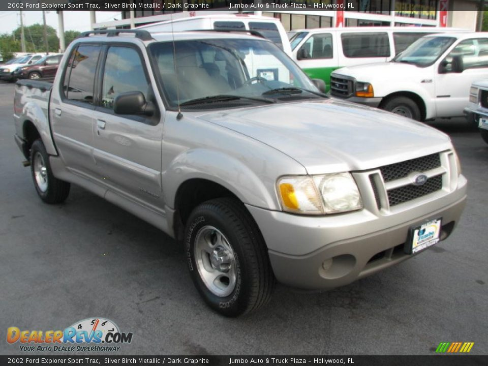 2002 ford explorer sport trac silver birch metallic dark graphite. Cars Review. Best American Auto & Cars Review