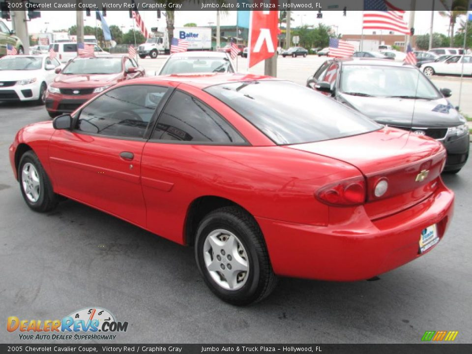 2005 chevrolet cavalier coupe victory red graphite gray photo 7. Cars Review. Best American Auto & Cars Review