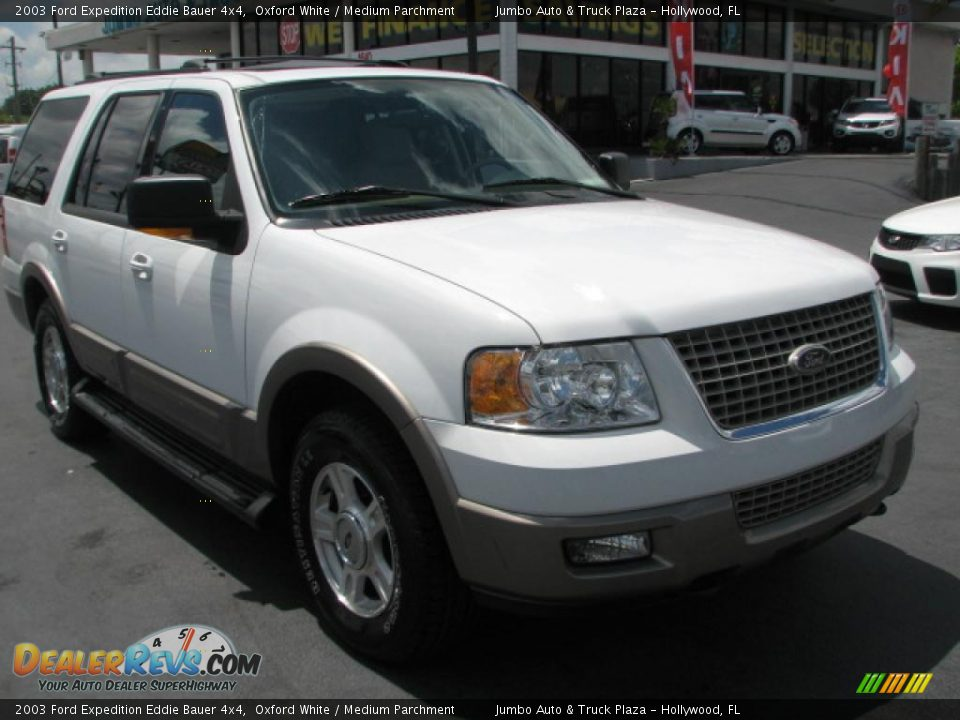 2003 ford expedition eddie bauer 4x4 oxford white medium parchment. Cars Review. Best American Auto & Cars Review