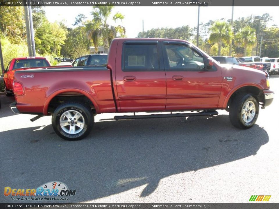 2001 ford f150 xlt supercrew 4x4 toreador red metallic medium. Cars Review. Best American Auto & Cars Review