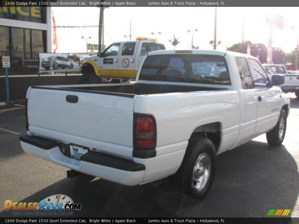1999 dodge ram 1500 sport extended cab bright white agate black photo 9. Black Bedroom Furniture Sets. Home Design Ideas