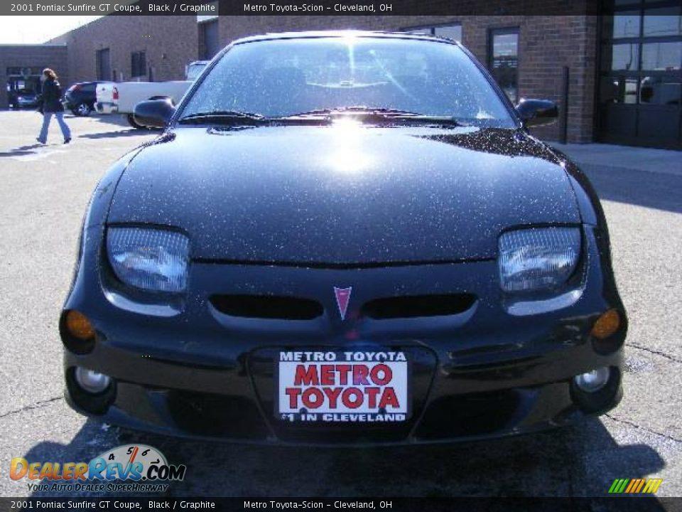 2001 Pontiac Sunfire GT Coupe Black / Graphite Photo #8   DealerRevs ...