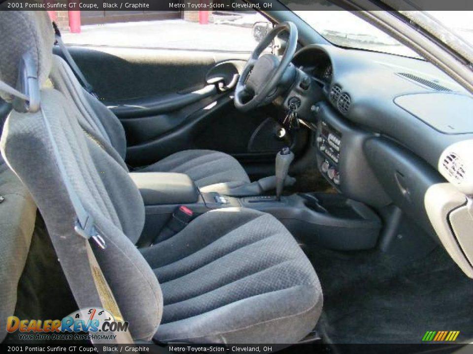 2001 Pontiac Sunfire GT Coupe Black / Graphite Photo #13   DealerRevs ...