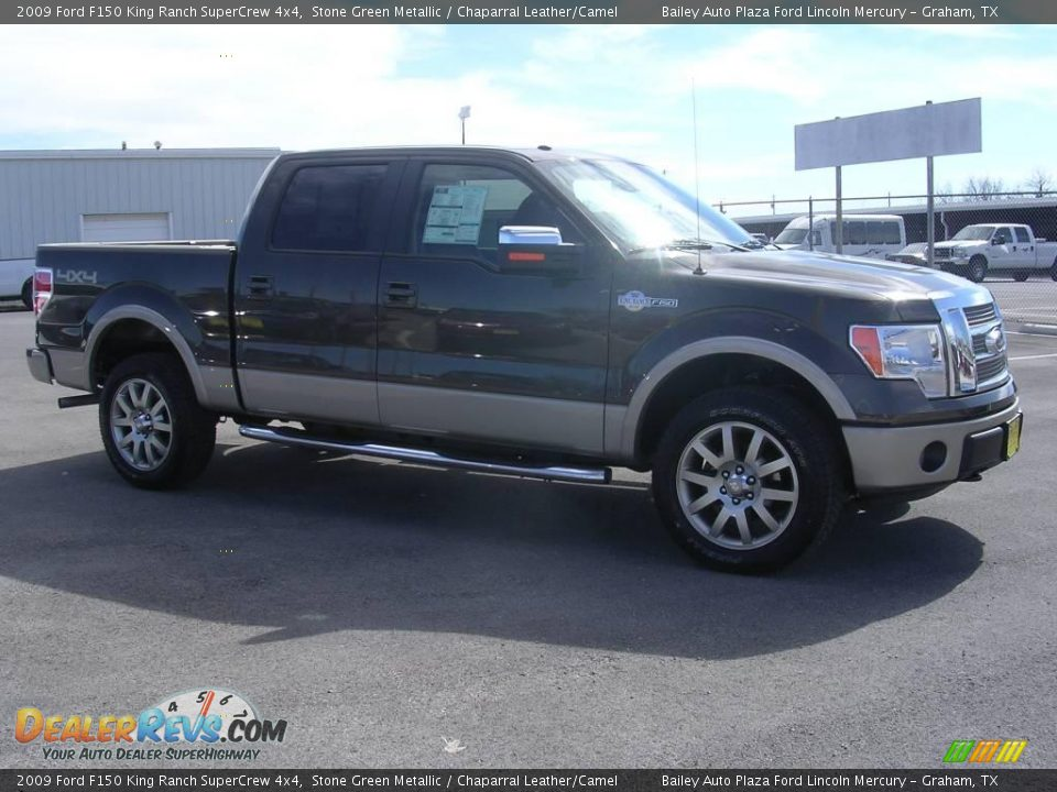 2009 Ford F150 King Ranch Supercrew 4x4 Stone Green