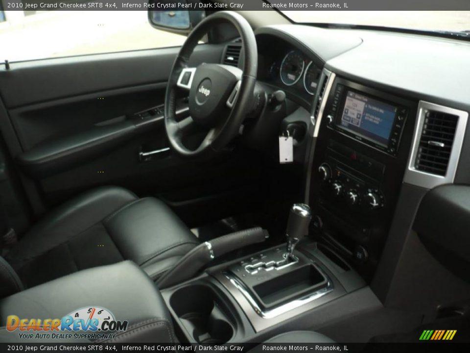 dashboard of 2010 jeep grand cherokee srt8 4x4 photo 8. Black Bedroom Furniture Sets. Home Design Ideas