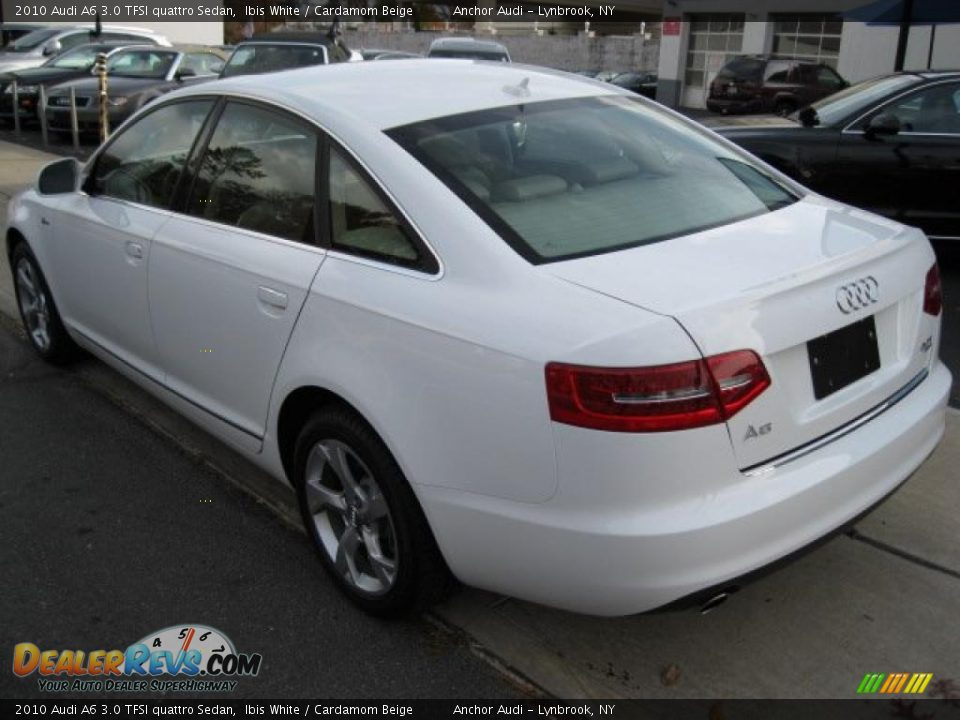 2010 audi a6 3 0 tfsi quattro sedan ibis white cardamom beige photo 4. Black Bedroom Furniture Sets. Home Design Ideas