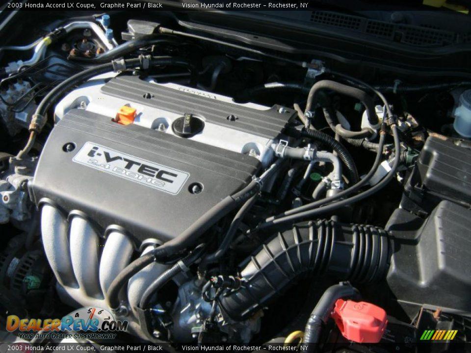 2003 honda accord lx coupe 2 4 liter dohc 16 valve i vtec. Black Bedroom Furniture Sets. Home Design Ideas