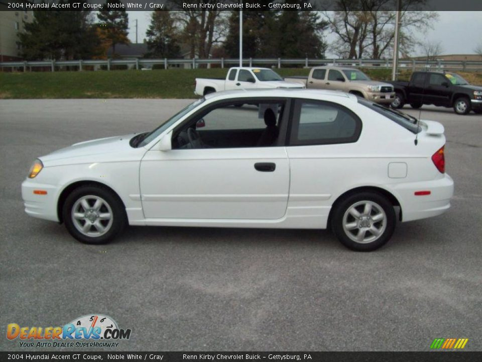 2004 hyundai accent gt coupe noble white gray photo 13. Black Bedroom Furniture Sets. Home Design Ideas