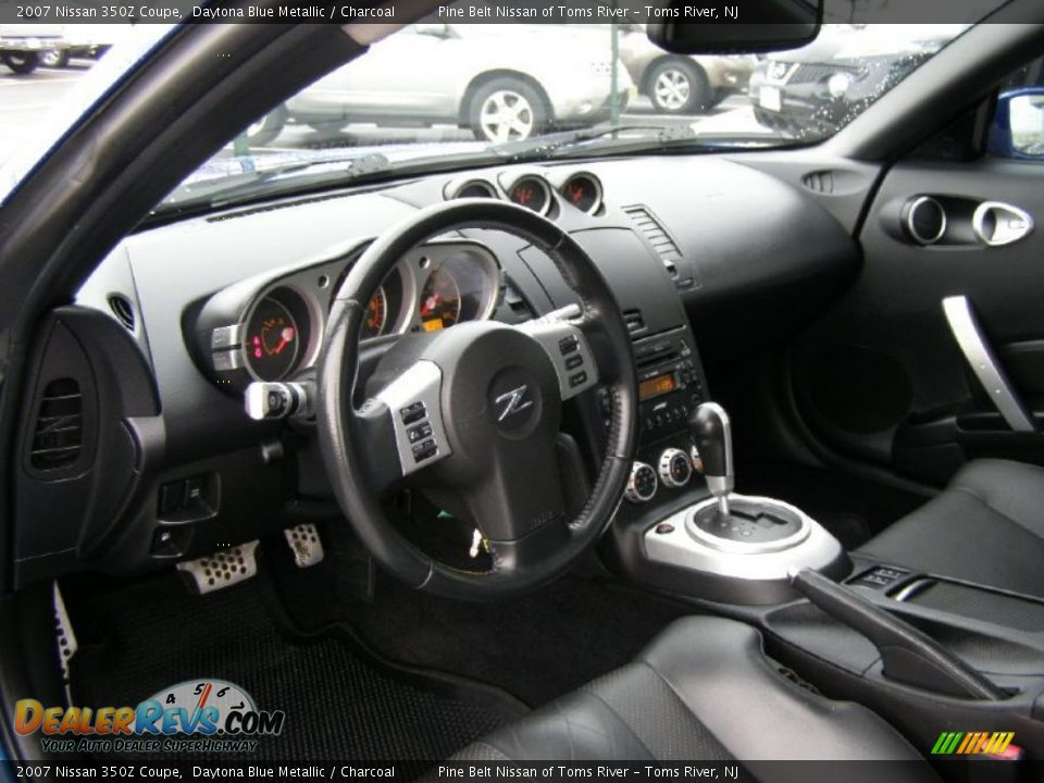Charcoal interior 2007 nissan 350z coupe photo 8 for Interieur 350z