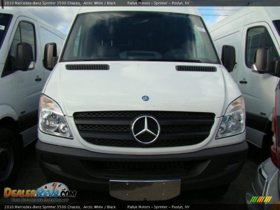2010 mercedes benz sprinter 3500 chassis arctic white for 2010 mercedes benz sprinter