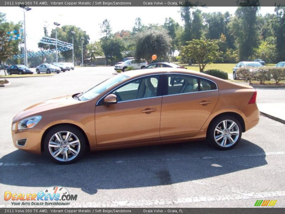 vibrant copper metallic 2011 volvo s60 t6 awd photo 4. Black Bedroom Furniture Sets. Home Design Ideas